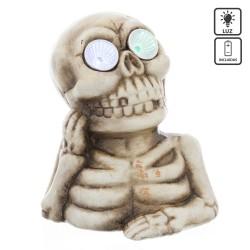 Squelette avec lumière led polyrésine 13,40 x 10,60 x...