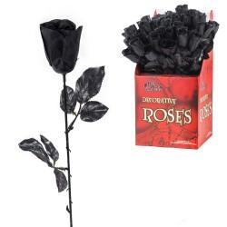 Rose noire 4 x 4 x 43 cm