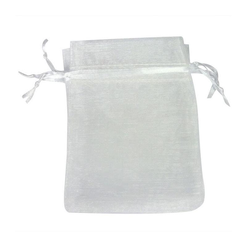 Organza blanc pas cher pochette cadeau - Emballage cadeau pas cher ...