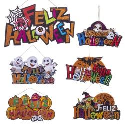 Affiche mousse joyeux halloween 6/m 37 x 0,50 x 20 cm