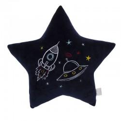 Coussin en forme d'étoile astronaute