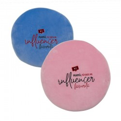 Coussin rond mama influenceur 2c