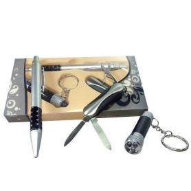 Coffret cadeau homme stylo couteau