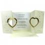 Carte d'Invitation pour Mariage Golden