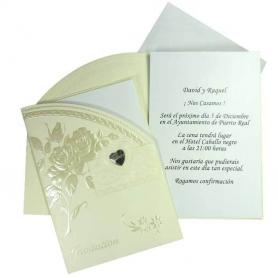 Faire-Part de Mariage  Carte Cadeaux 0,73€