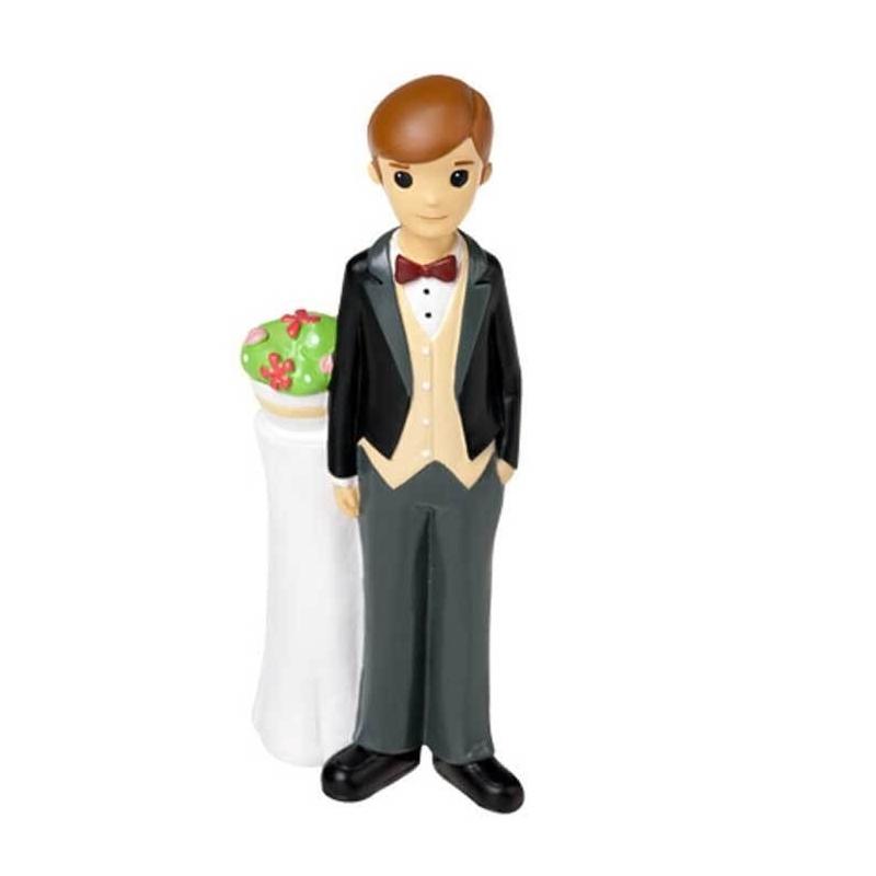 Figurine homme pour gateau mariage
