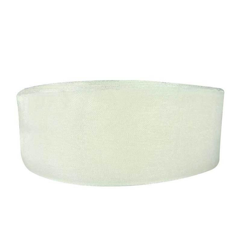 Ruban Organza Blanc