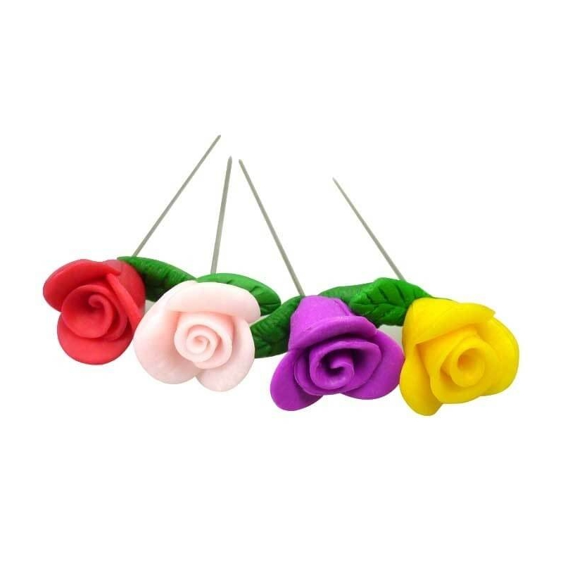 Epingles en forme de Roses
