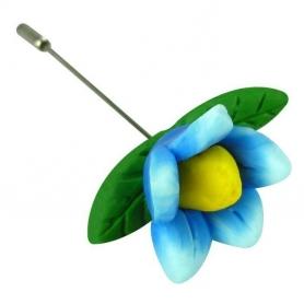 Epingles Fleurs Fimo