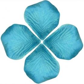 Petales de Roses Artificiel Bleu