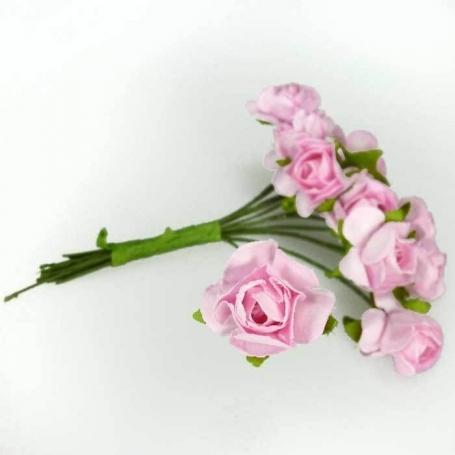 Fleur en Papier Rose  Fleurs en papier pics fleur decoration