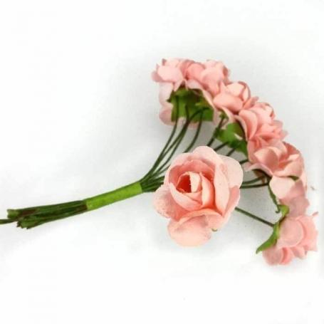 Fleurs en Papier Rose  Fleurs en papier pics fleur decoration