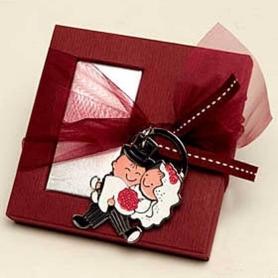 Porte Cle Cadeaux invites mariage  Porte Cadeaux 2,80€