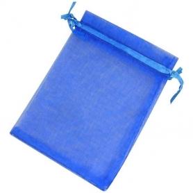 Pochettes Organza Bleu
