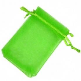 Pochettes en Organza Vert 15x20