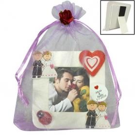 Cadeaux invites Mariage pas Cher Magnets  Cadre Cadeaux 0,95€