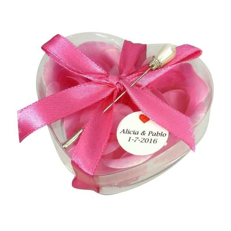 Cadeau Invite Mariage Savon Broche
