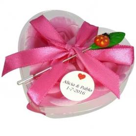 Mariage Cadeaux Invites Broche Savon