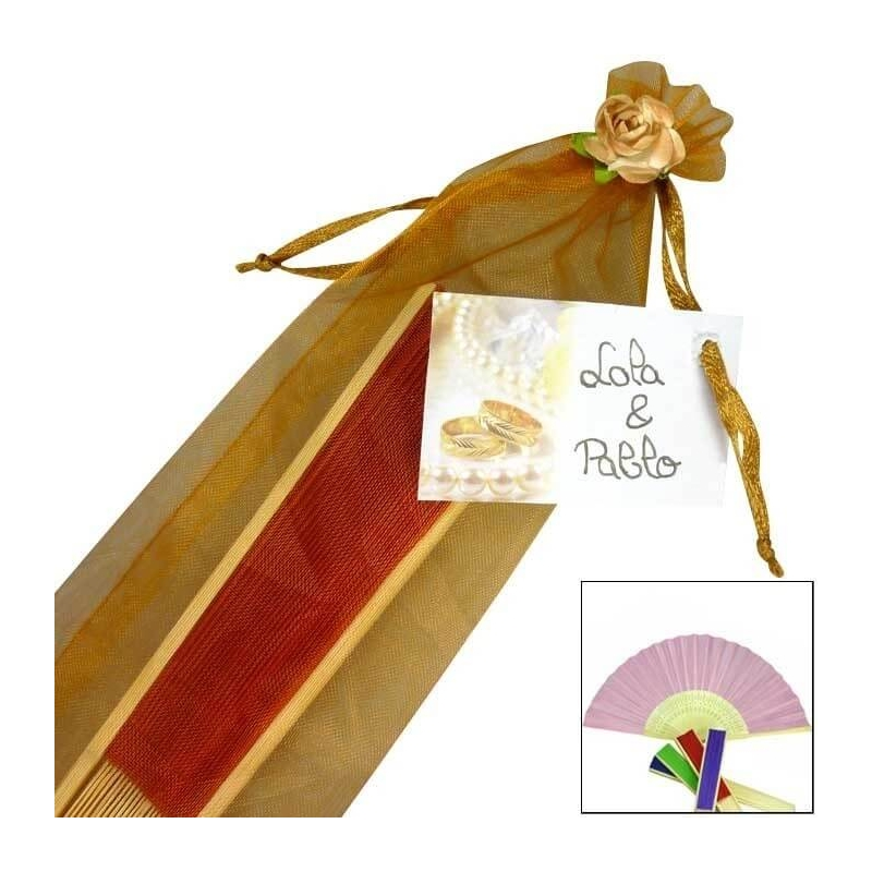 Eventail Personnalise pour Mariage 1.00 €