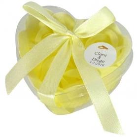 Cadeaux Invites Mariage Savons Jaune