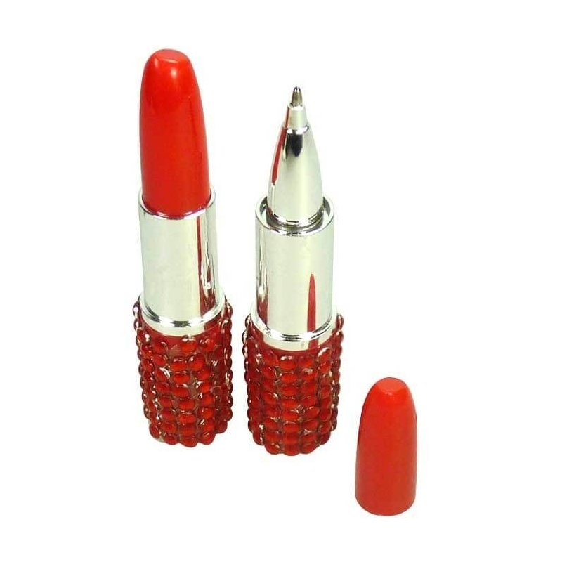 Stylo Rouge a Levre Strass Rouge