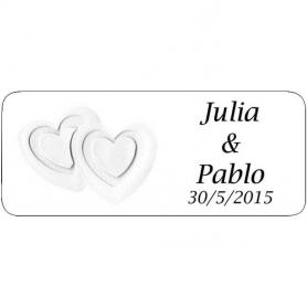 Stickers paquets cadeaux mariage Pour Toi