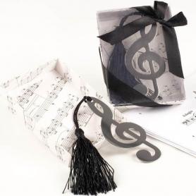 Marque-Page en forme de Clé de Sol  Marque Cadeaux 0,66€