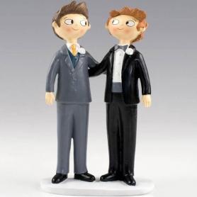 Figurine pour Gâteau Mariage Gay