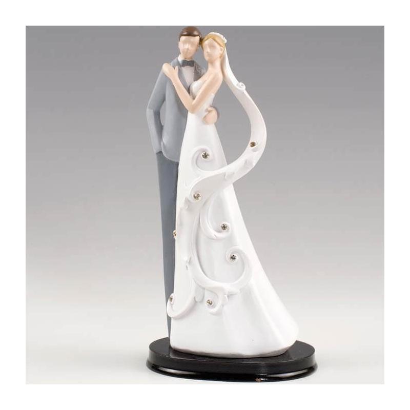Personnages Décoration de Pièce Montée  Figurine Gateau Mariage