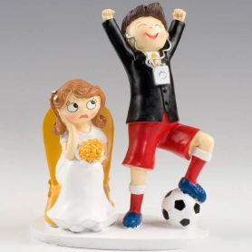 figurine mariage football - Figurine Mariage Humoristique Pas Cher