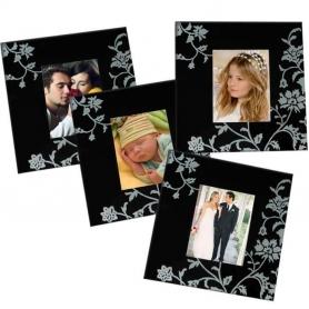 Cadeau personnalise mariage pas cher sous verre