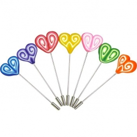 Epingle Pins en Forme de Coeur