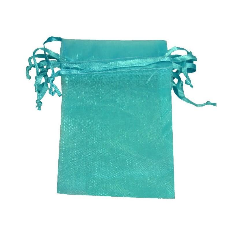 petit sac cadeau organza pas cher bleu acheter petit sachet en. Black Bedroom Furniture Sets. Home Design Ideas