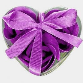 Souvenirs cadeaux savons originaux violet