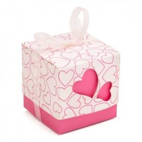 Boites carton cadeaux invites details