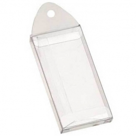 Boite cadeau plastique transparente pas cher