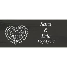 Petites Cartes Amusantes Personnalisation de Mariage
