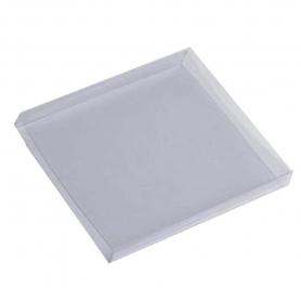 Etui Couvercle en Plastique Transparent