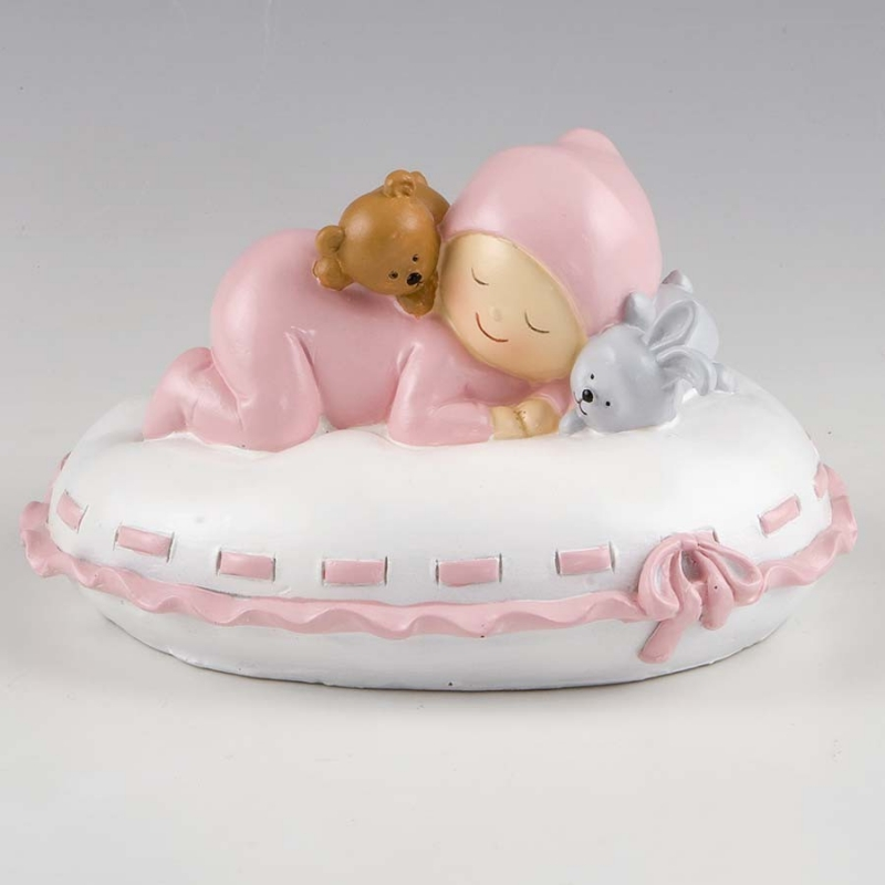 Bébé Coussin  Figurine pour Gateau Bapteme Details Baptême