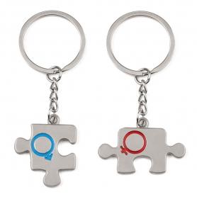 Porte-clés Puzzle Couple  Porte Cadeaux 0,85€