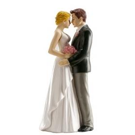 Sujet figurine mariage porcelaine gateau...