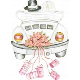 Sticker Jeunes Mariés