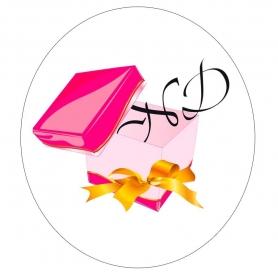 Etiquette Autocollante Logo