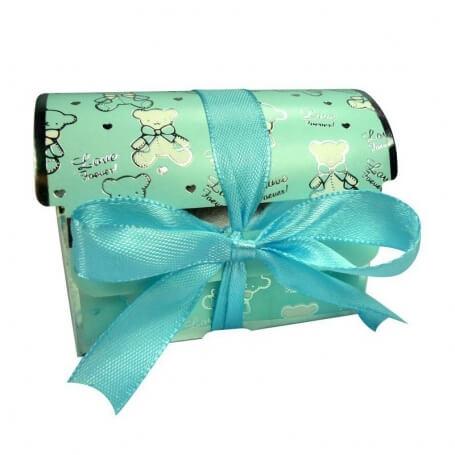Boite en Carton pour Dragées en forme de Coffre  Petite Boîte