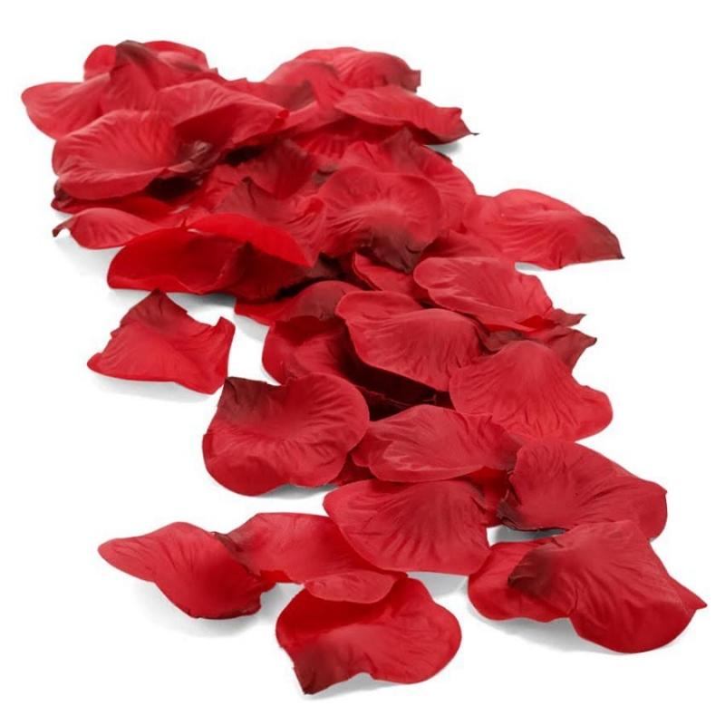 Pétales de Fleurs en Tissu