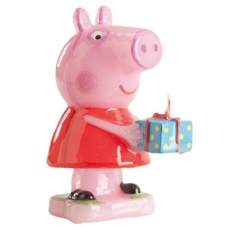 Bougie Peppa pig  Décoration Anniversaire