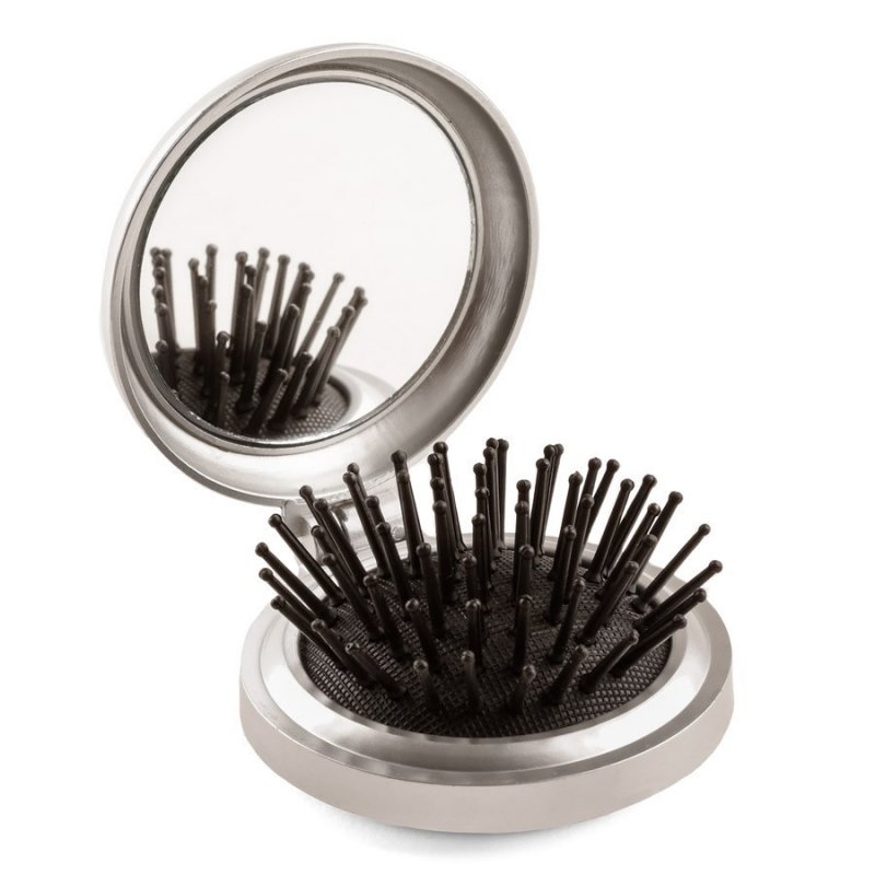 Miroir avec brosse for Miroir de peine
