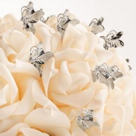 Bouquet de mariage avec épingles