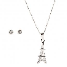 Ensemble Bijou Fantaisie Tour Eiffel  Idée