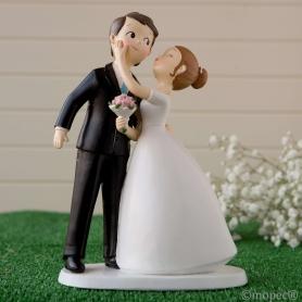 Figurine pour Pièce Montée de Mariage